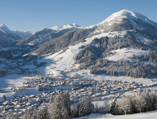 Groepsreizen naar Kirchberg in de winter